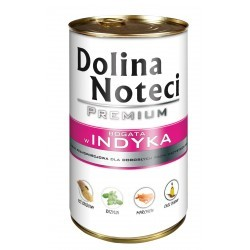 DOLINA NOTECI PREMIUM z indykiem 400 g