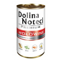DOLINA NOTECI PREMIUM z wołowiną 400 g