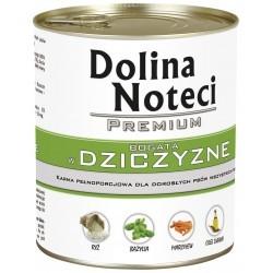 DOLINA NOTECI PREMIUM z dziczyzną 800 g