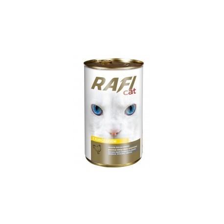 DOLINA NOTECI RAFI CAT kawałki z kurczakiem w sosie 415 g