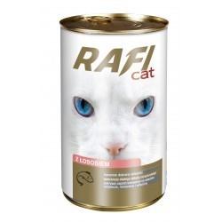 DOLINA NOTECI RAFI CAT kawałki z łososiem w sosie 415 g