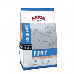 Arion ORIGINAL Puppy Medium z łososiem i ryżem 12kg
