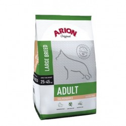 Arion ORIGINAL Adult Large z łososiem i ryżem 2x12kg