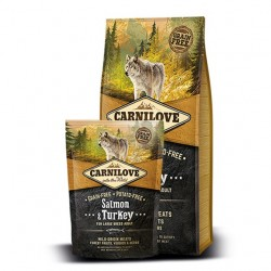 Carnilove Salmon & Turkey For Large Breed Adult - łosoś i indyk
