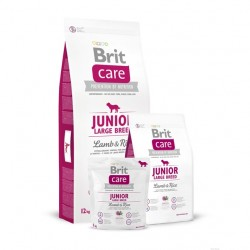 Brit Care - Junior Large Breed Lamb & Rice