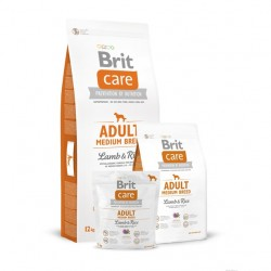 Brit Care - Adult Medium Breed Lamb & Rice 12kg