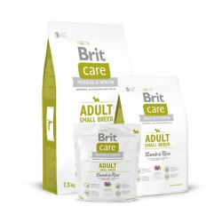 Brit Care - Adult Small Breed Lamb & Rice