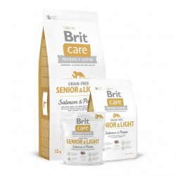 Brit Care - Senior & Light Salmon & Potato bez zbóż z łososiem
