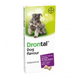 Bayer Drontal Dog Flavour 10 kg