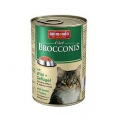 ANIMONDA BROCCONIS CAT Dziczyzna i Drób 400g