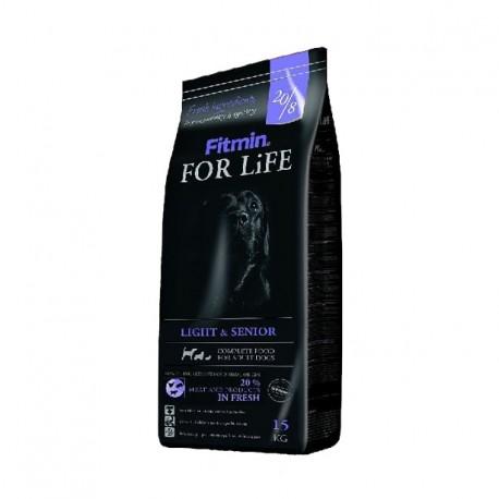Fitmin For Life Light & Senior 15kg