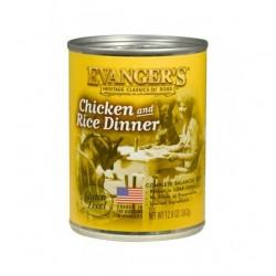 EVANGER'S Classic Kurczak z Ryżem 400g