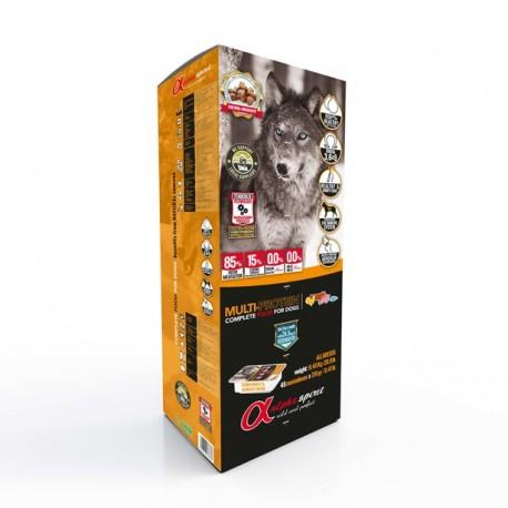 ALPHA SPIRIT multiproteinowa 9,45 kg - sucha karma dla psów