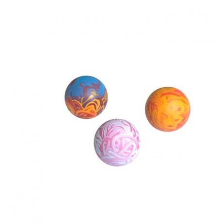 Piłka z pełnej gumy 7 cm - zabawka zapachowa dla psa