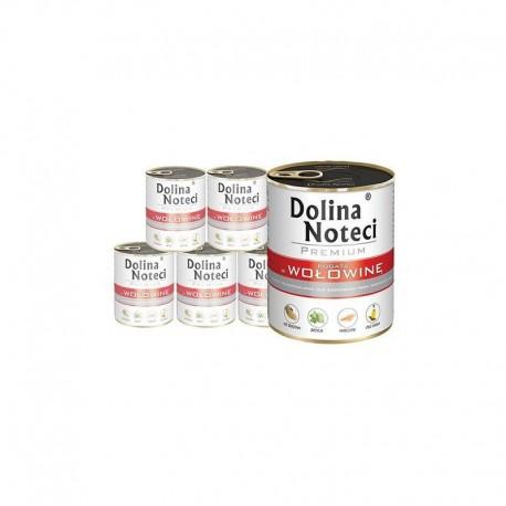 DOLINA NOTECI PREMIUM z wołowiną 6 x 800 g