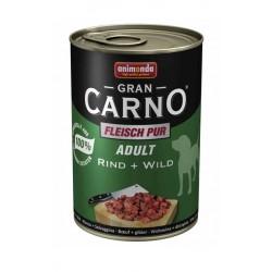 Animonda - GranCarno Adult Wołowina - Dziczyzna 400g