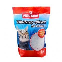 MRU MRU - silikatowy piasek dla kotów 10l