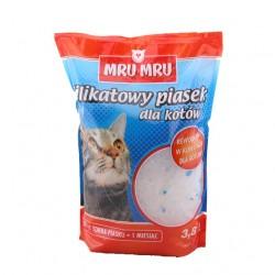 MRU MRU - silikatowy piasek dla kotów 3,8l