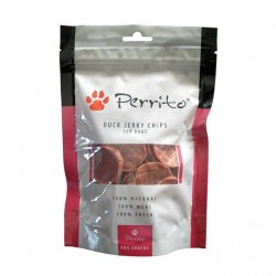 Perrito Dog Duck Jerky Chips - 100g