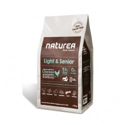NATUREA GRAINFREE LIGHT AND SENIOR KURCZAK