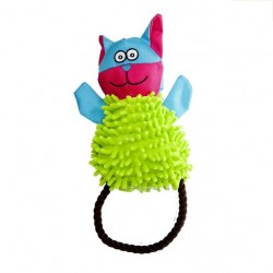 KITTY - pluszowo-ortalionowa zabawka dla psa Dingo