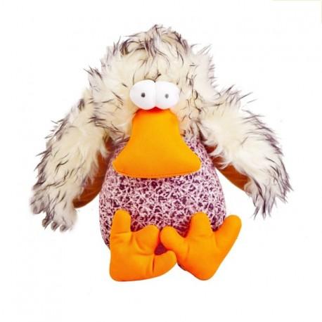 KURCZAK DUCKY - pluszowo-ortalionowa zabawka dla psa Dingo