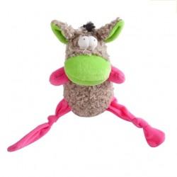 OSIOŁ STUART - pluszowo-ortalionowa zabawka dla psa Dingo