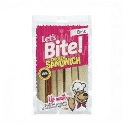 BRIT LETS BITE CHICKEN SANDWICH 80g - przysmak dla psa