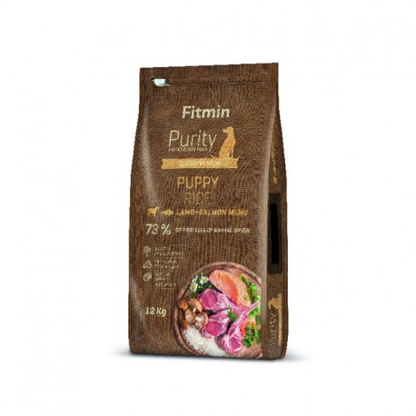Fitmin Purity Rice Puppy Lamb&Salmon
