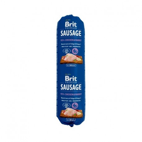 BRIT SAUSAGE CHICKEN & RABBIT
