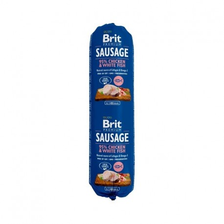 BRIT SAUSAGE CHICKEN & WHITE FISH