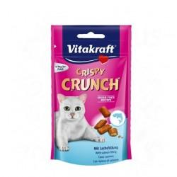 Vitakraft Crispy Crunch Przysmak z łososiem 60g