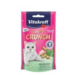 Vitakraft Crispy Crunch Dental - przysmak pielęgnujący zęby dla kota 60g