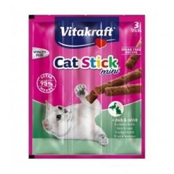 Vitakraft Cat Stick mini z mięsem kaczki i królika - 3 szt. kabanosiki dla kota