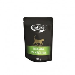 DOLINA NOTECI NATURAL TASTE CAT bogata w królika 100 g