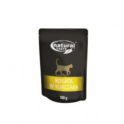 DOLINA NOTECI NATURAL TASTE CAT bogata w kurczaka 100 g
