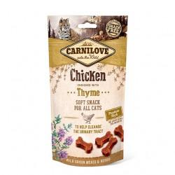 Carnilove Cat Snack Soft Chicken & Thyme - miękka przekąska z kurczakiem i tymiankiem - 50g