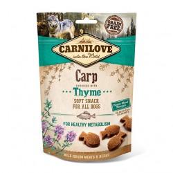 Carnilove Dog Snack Soft Carp & Thyme - miękka przekąska z karpiem i tymiankiem - 200g