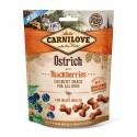 Carnilove Dog Snack Crunchy Ostrich & Blackberries - chrupiąca przekąska z strusiem i jeżynami - 200g