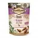 Carnilove Dog Snack Soft Quail & Oregano - miękka przekąska z przepiórką i oregano - 200g
