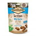 Carnilove Dog Snack Soft Sardines & Wild Garlic - miękka przekąska z sardynkami i czosnkiem - 200g