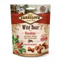 Carnilove Dog Snack Crunchy Wild Boar & Rosehips - chrupiąca przekąska z dzikiem i owocami dzikiej róży - 200g