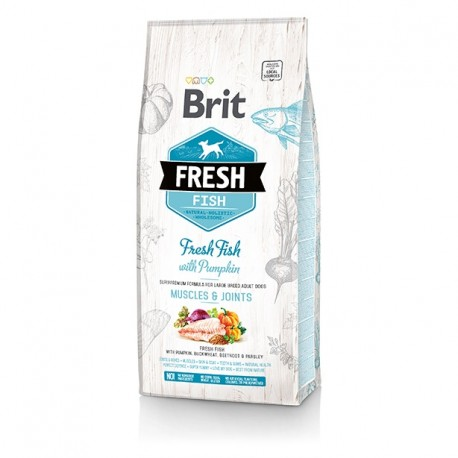 Brit Fresh Fish & Pumpkin Adult Large Muscles & Joints