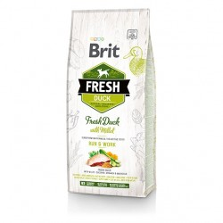 Brit Fresh Duck & Millet Adult Run & Work - 12kg