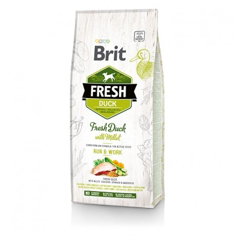 Brit Fresh Duck & Millet Adult Run & Work