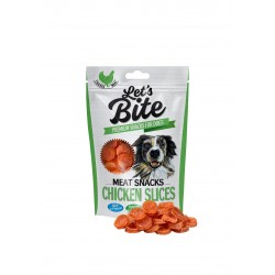 Brit Let's Bite Meat Snacks Chicken Slices 80g