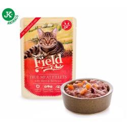 Sams Field Saszetka Wołowe mięso z burakiem czerwonym 85g