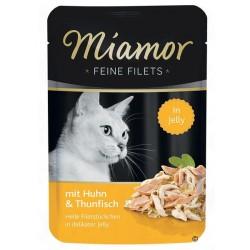 Miamor Feine Filets Adult Tuńczyk i kurczak 100g