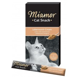 Miamor Pasta Cat Cream Leberwurst-Cream dla kota op. 90g