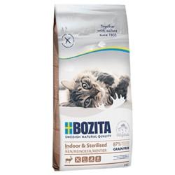Bozita indoor & sterilised z reniferem 2kg